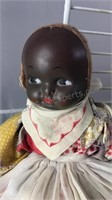 """Vintage Home Made Dolls 15-16"""" Tall"""