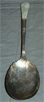 Lot of Decorative Sterling Spoons.