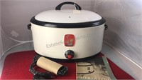 Antique Nesco Automatic Slow Cooker With Recipe
