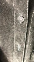 Vintage New Frontier Leather Jacket Size M Button