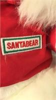 1989 Vintage Santa Bear Wearing Gore-Tex Jacket