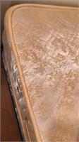"Complete Bed Set  Wood Headboard 40x46"" Metal Bed"