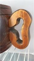 Vintage Steincraft Presque Isle Wisconsin Wooden