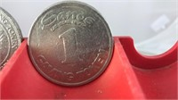 Vintage Las Vegas Metal 1 Dollar  Gaming Tokens