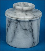 Marble Butter Keeper & Mortar / Pestle