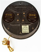 Vintage Auto-Lite Lighted Wall Clock