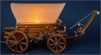 Vintage Conestoga Wagon Lamp / Nightlight