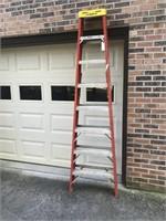 8ft Fiberglass Warner Ladder