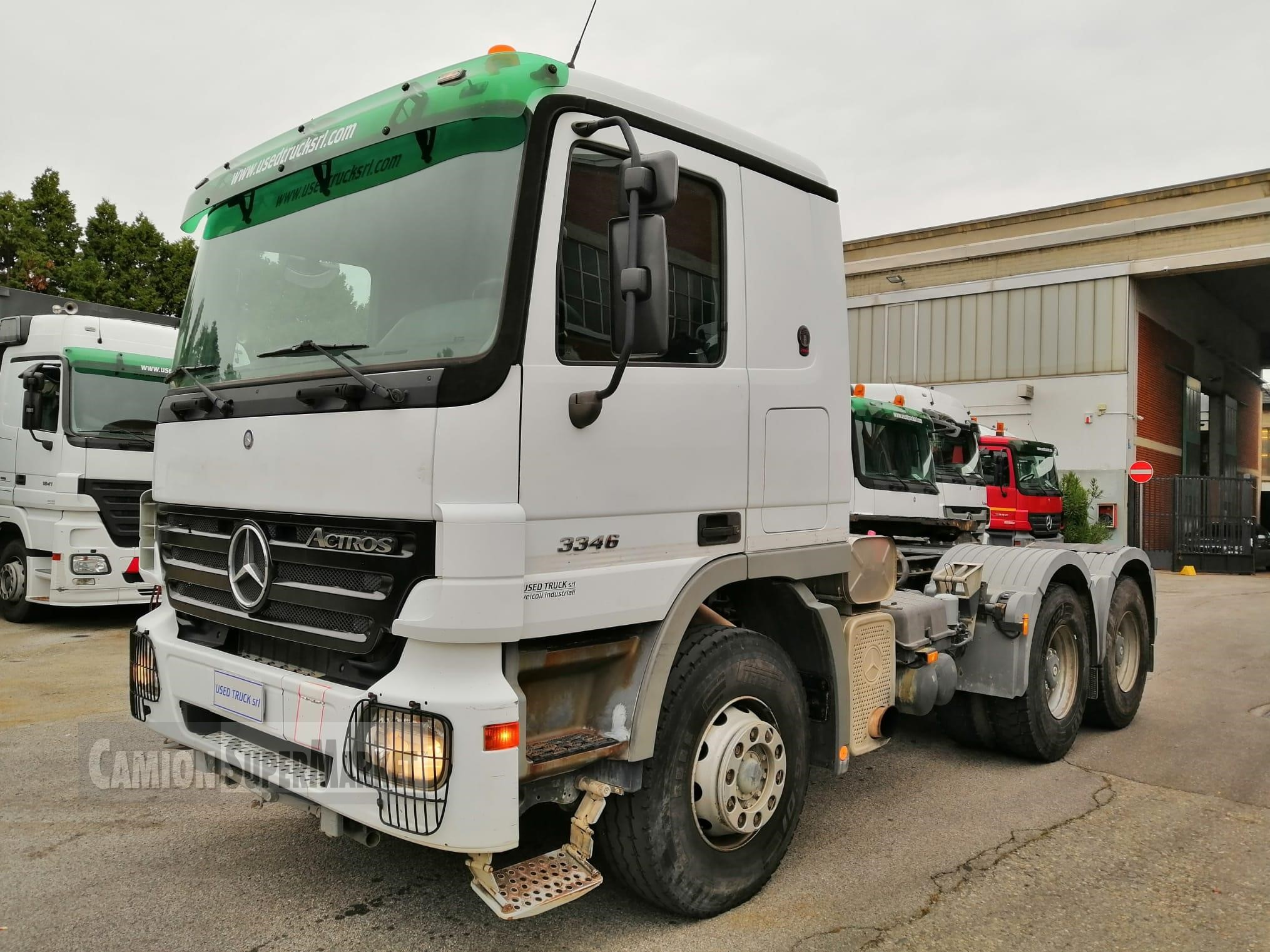 Mercedes-Benz ACTROS 3346 used 2005