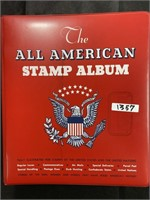 The all American Stamp book