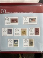 1957 US commemorative stamps