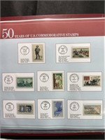 1964 US commemorative stamps