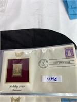 22 kt gold replica stamp