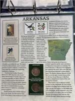 Arkansas quarter set