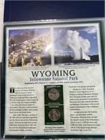 Wyoming quarter set