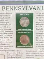 Pennsylvania quarter set