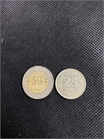 Two turkiye Cumhuriyeti coins
