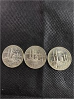 Lot of 3 Arabic coins