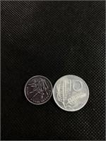Yi jiao and Italian coin