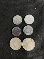 Indian paise coin set