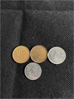 Queen Elizabeth coins