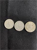 Guatemalan coins lot