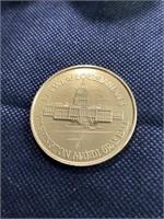Assorted Mardi Gras coins