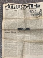 Antique newspapers and almanacs