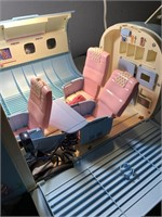 Barbie plane toy set