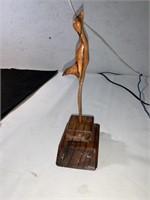 Unique wooden sculptures
