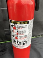 Metal trash can and fire extinguisher lot