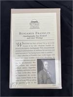Ben Franklin Autobiography (unopened)
