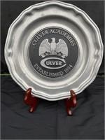 Culver Academies Decorative Plate