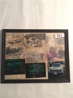 Framed wall photographs
