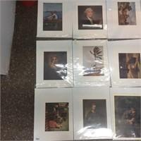 set of modern art works