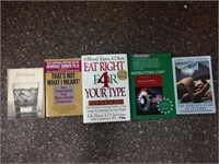 Set of reading books