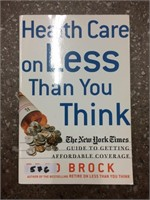 Health Care on less than you think book