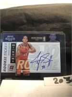 2009 Taylor Griffin Basketball card