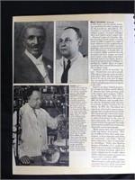 Historical magazine clippings: Black Achievement