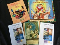 Assorted vintage religious