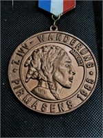 1914 German and American Medal