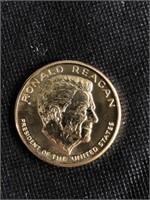 Ronald Reagan presidential commemorative coin