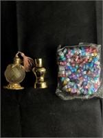 Large Ring set and perfume bottles