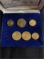 United States pin set