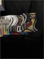 NASCAR press pass cards