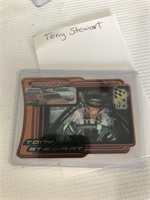 Two Tony Stewart collectable cards