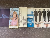 Vintage brochures