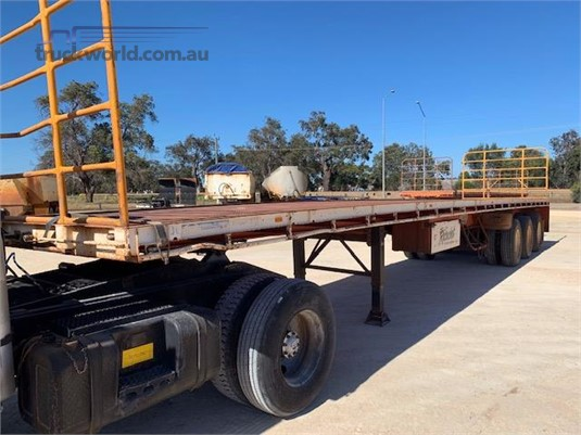 2007 Gte Flat Top Trailer - Trailers for Sale