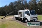 2014 Fuso Canter FE918 Crane Truck