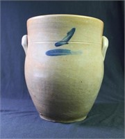 Cobalt Decorated Stoneware Jar